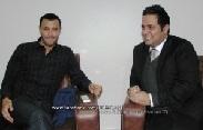 صرح النجمان في مجال الغناء كاظم الساهر وحاتم العراقي لـ صدى الحقيقة حول اداء منتخب العراق في بطولة كأس الخليج  2014
